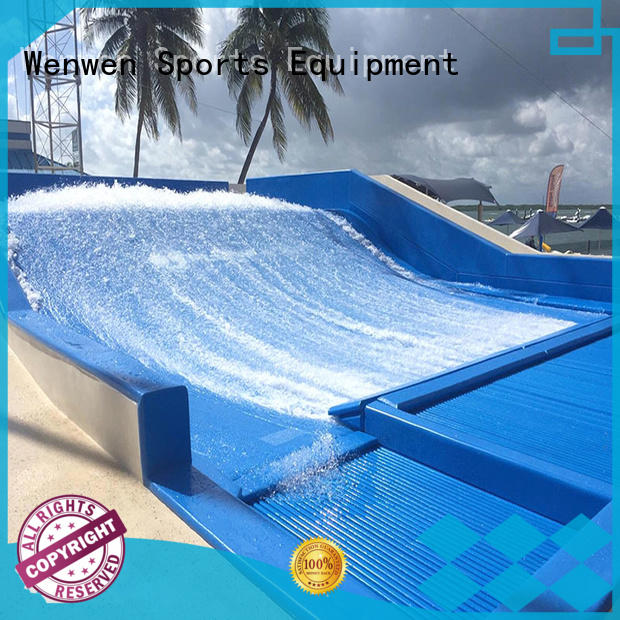 Wenwen commercial large water slide wave machine for sale