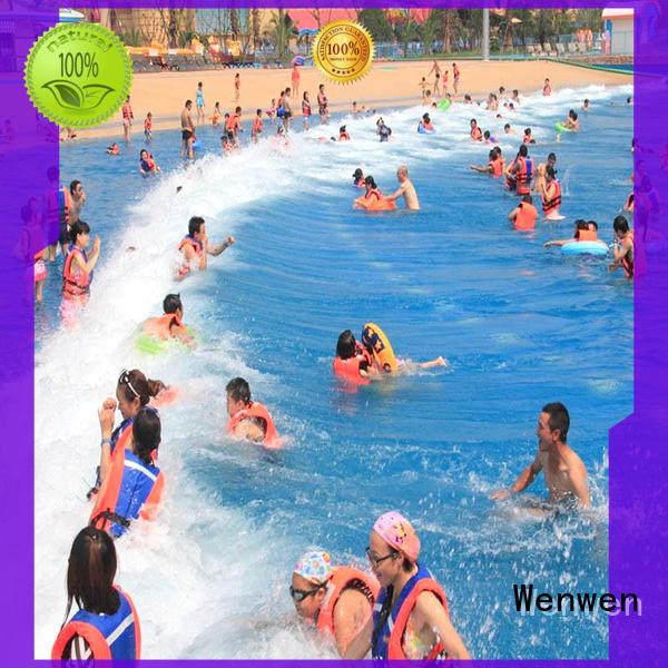 Wenwen tsunami best wave pool manufacturer wholesale