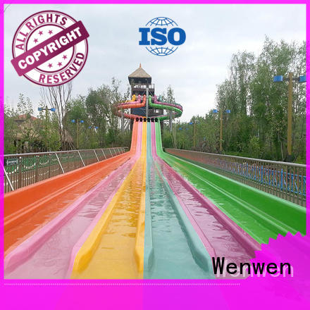 wholesale fastest water slide manufacturer for theme park Wenwen
