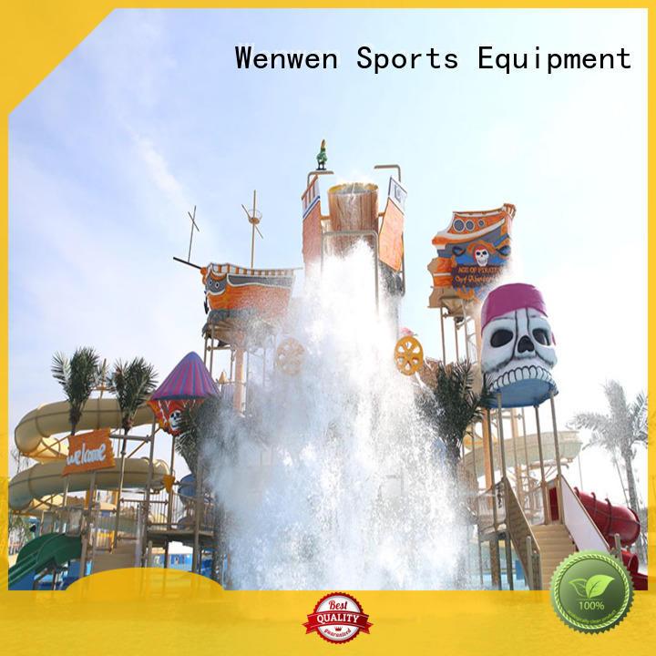 Wenwen water playground year warranty for amusement park
