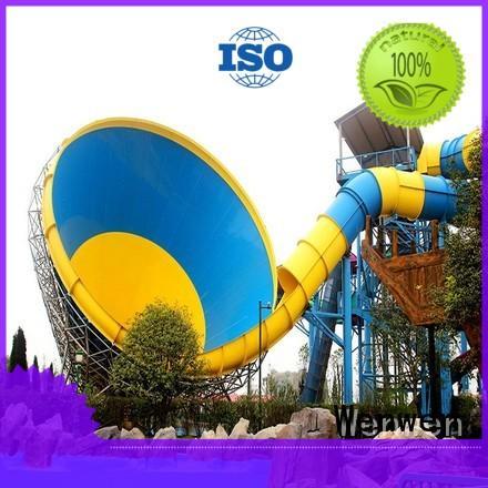 Wenwen water fiberglass water slides for sale height for resort