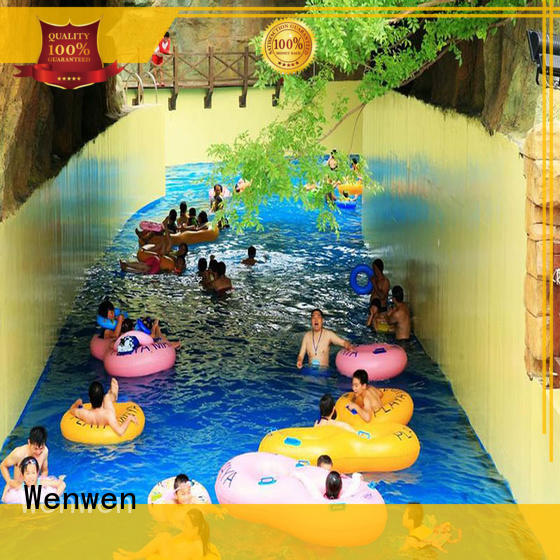 Wenwen colorful lazy river equipment for family