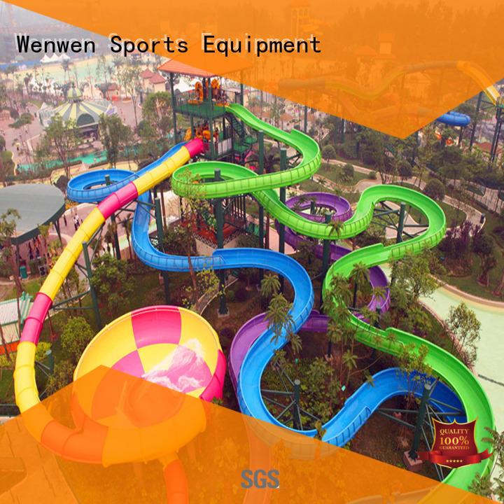 Wenwen best buy water slide summer for resort