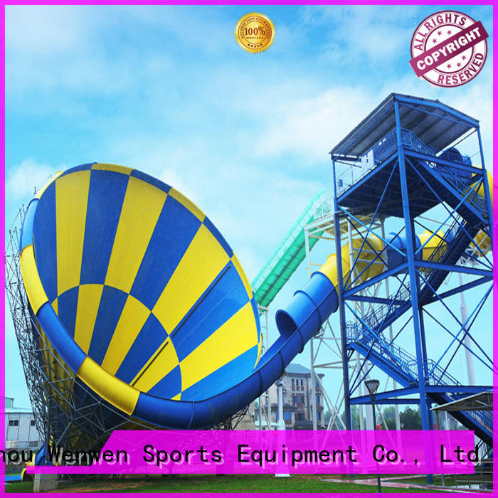 Wenwen adult cheap water slides height for resort