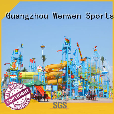 Wenwen aquatic huge water playground supplier for theme park