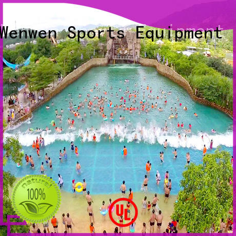 Wenwen outdoor new wave pools durable for park