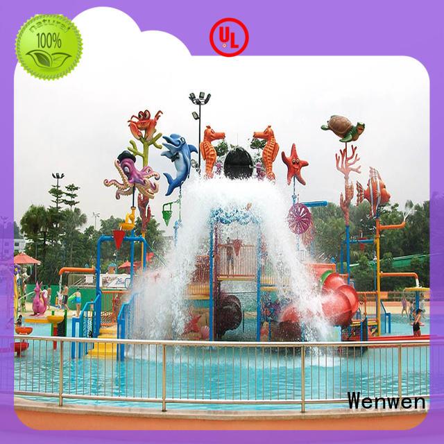Wenwen outdoor water playground spray for hotel