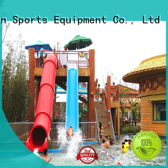 adult water slide outdoor swimming pool for hotel