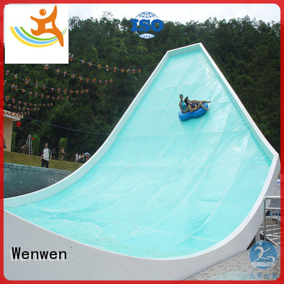 Wenwen u waving all water slides superior quality for hotel