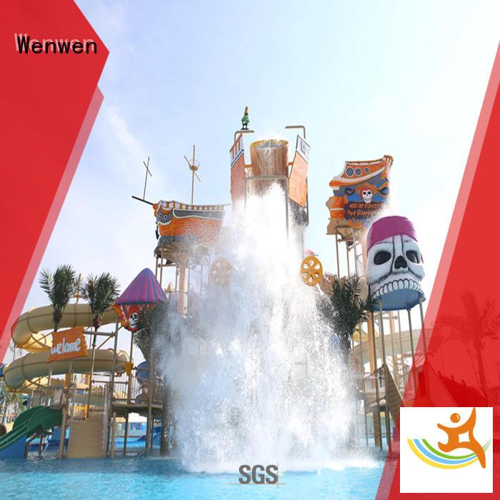 custom water playground equipment for hotel Wenwen