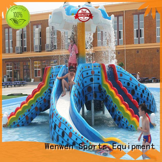 play octopus fiberglass water slides for kids Wenwen Brand