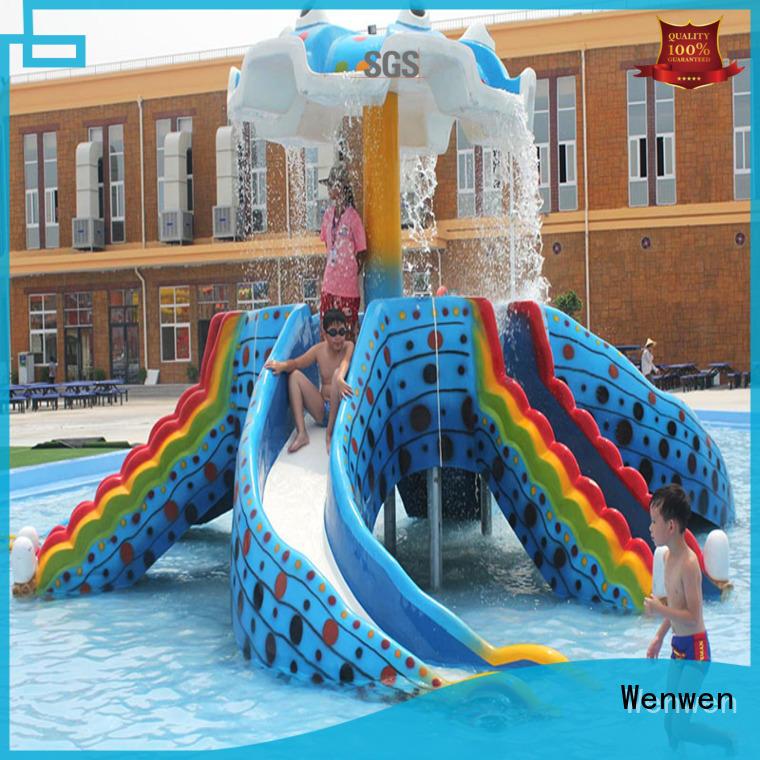 Wenwen kids water slide fiberglass for sale