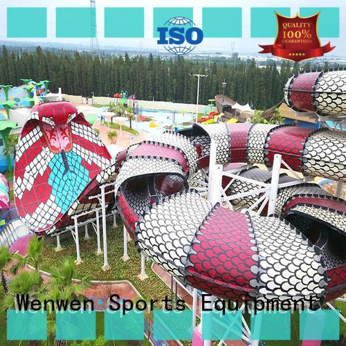 Cobra Water Slide Theme Park Commercial Fiberglass Water Slides