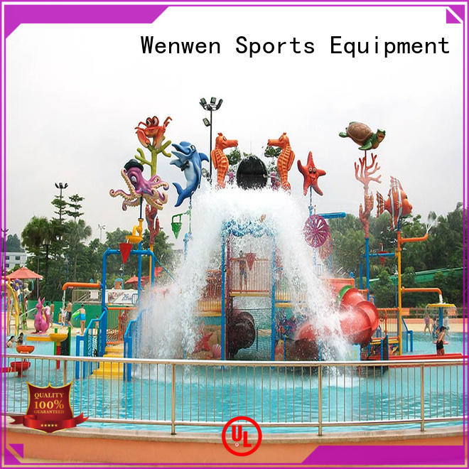 curtain kids water park manufacturer for water park Wenwen