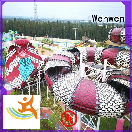 Wenwen safe water slide cost for resort