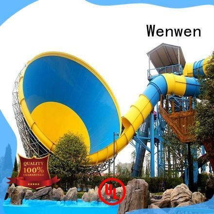 Wenwen hot sale cheap water slides equipment for water park