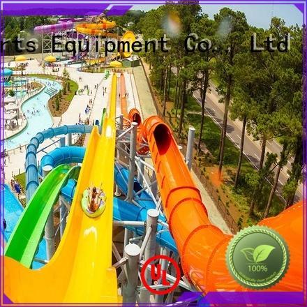good quality fiberglass water slide design for water park Wenwen