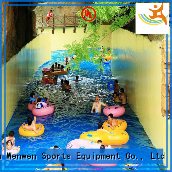 Wenwen Brand water park family lazy river water park playground