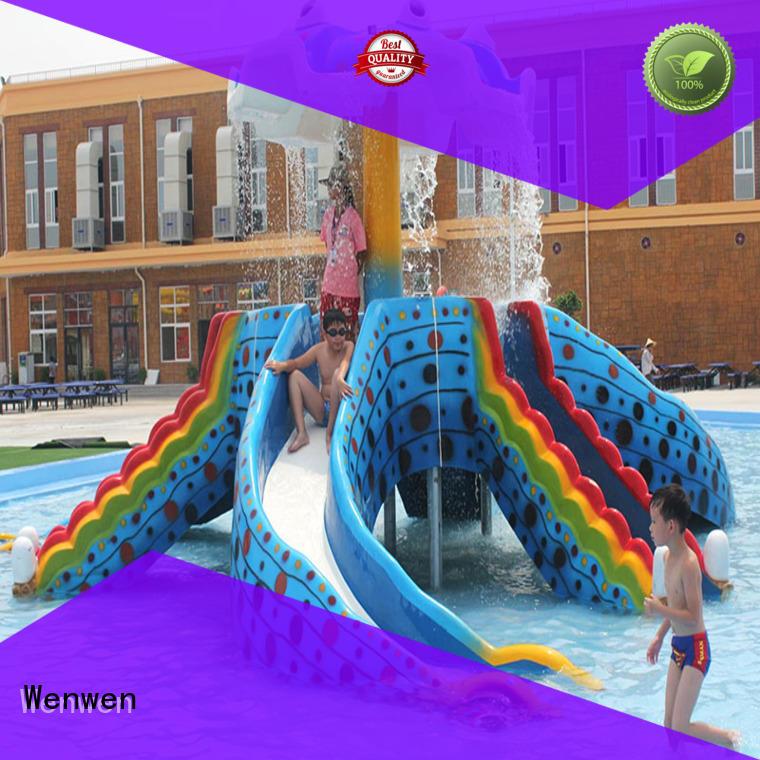 Wenwen design kids water slide suppliers for sale