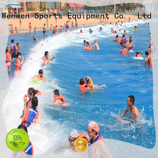 Wenwen artificial the wave pool good selling for water park