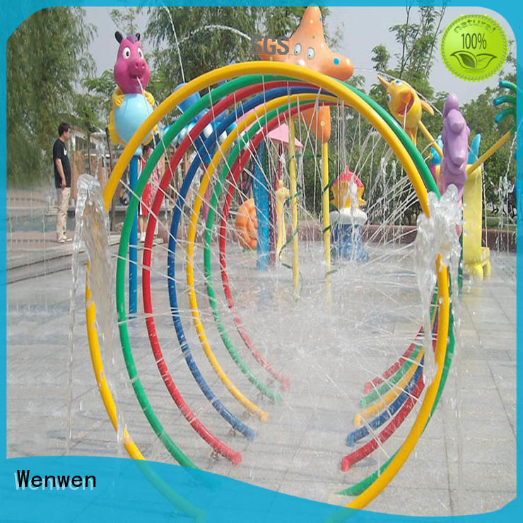 Wenwen kids splash pad steel online