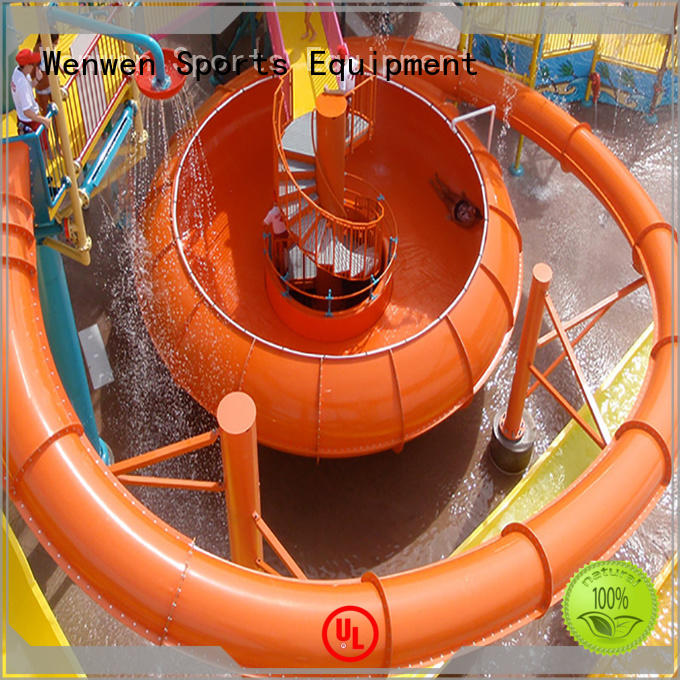 commercial color big water slides swimming Wenwen company