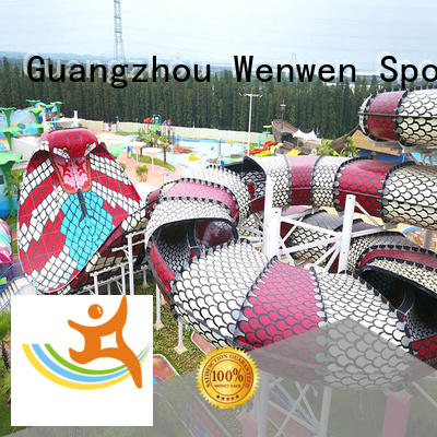 Wenwen funny best kids water slide for theme park