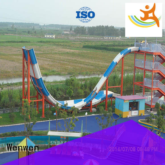 Wenwen commercial pool water slide material for family