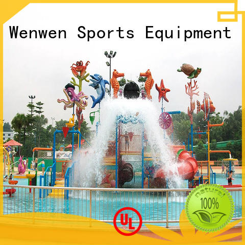 Wenwen curtain indoor water park supplier for resort