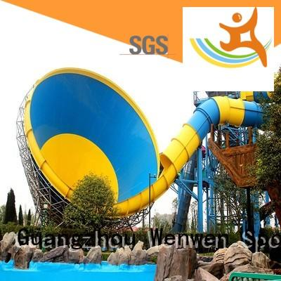 Wenwen thrilling big water slides for adults for water park
