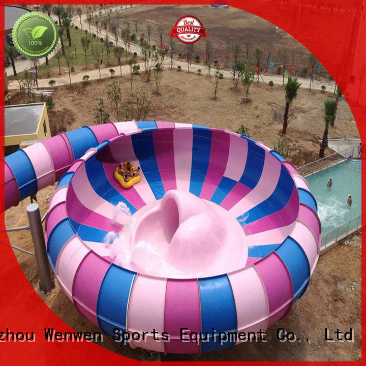 construction big water slides supplier for amusement
