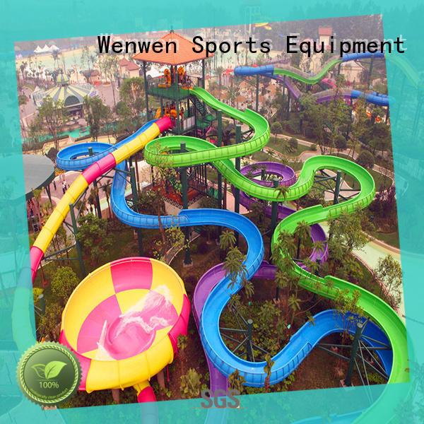 Wenwen design water slide race adult for hotel
