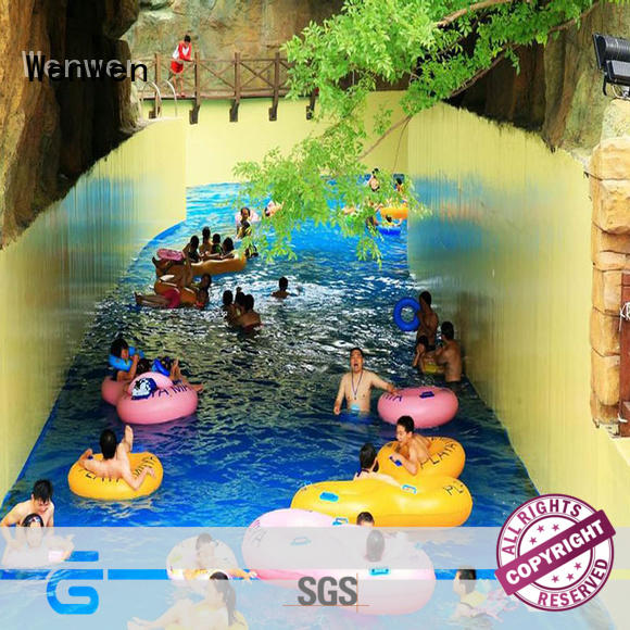 Wenwen artificial lazy river manufacturer for sale