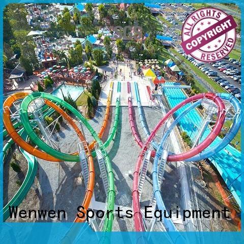Custom slide adult water slide equipment Wenwen