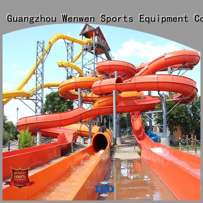 outside water slides holiday equipment Wenwen Brand water slide ride