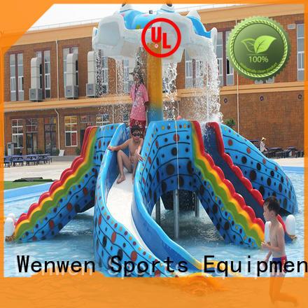 Wenwen kids water slide material for water park