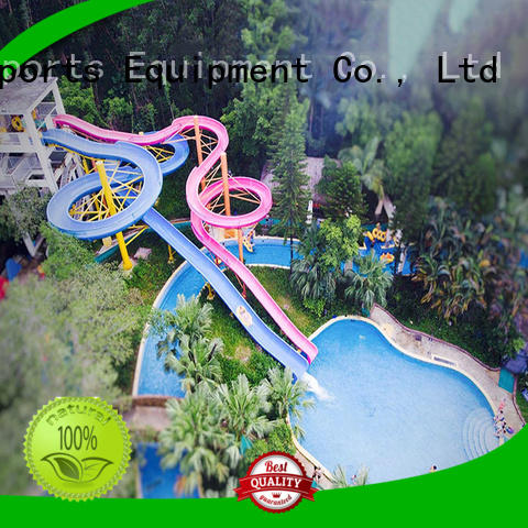 outside water slides tube water slide ride Wenwen Brand