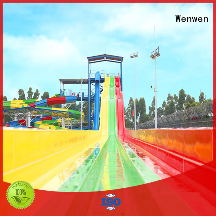 Wenwen colorful buy water slide for water park