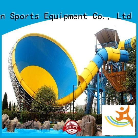 Wenwen Brand slide big amusement a big water slide