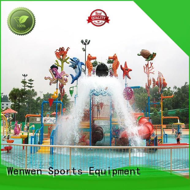 Wenwen aqua outdoor water playground for home