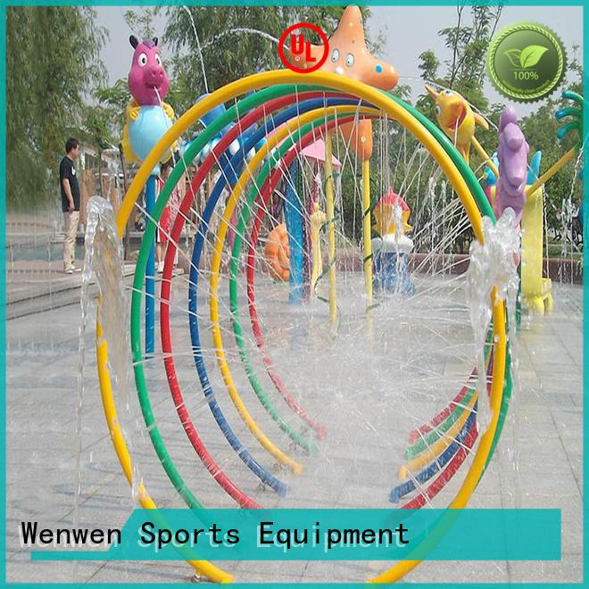 Wenwen splash park steel for sale
