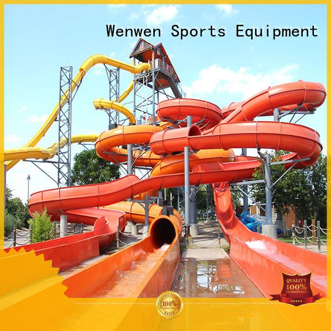 aqua tube water slide equipment for resort