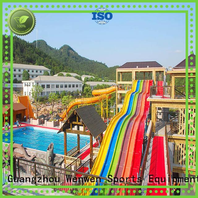 slide 10 water slides fiberglass commercial Wenwen Brand