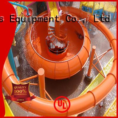 fiberglass outdoor kids water slide space Wenwen company