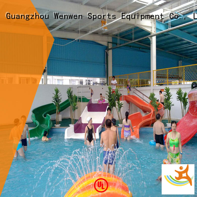 Wenwen raft fiberglass water slides suppliers for amusement park