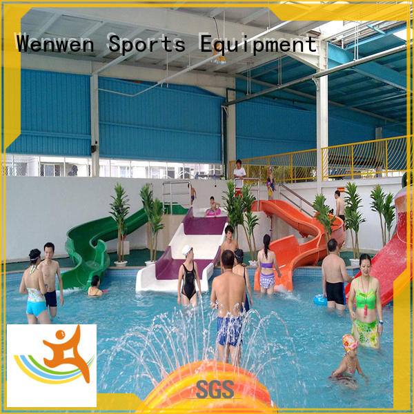 tall water slides high quality for theme park Wenwen
