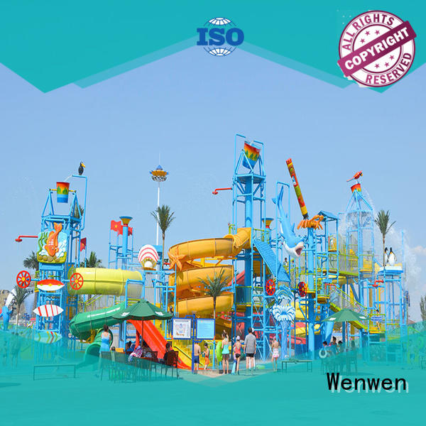 huge indoor water park hotel resort Wenwen Brand