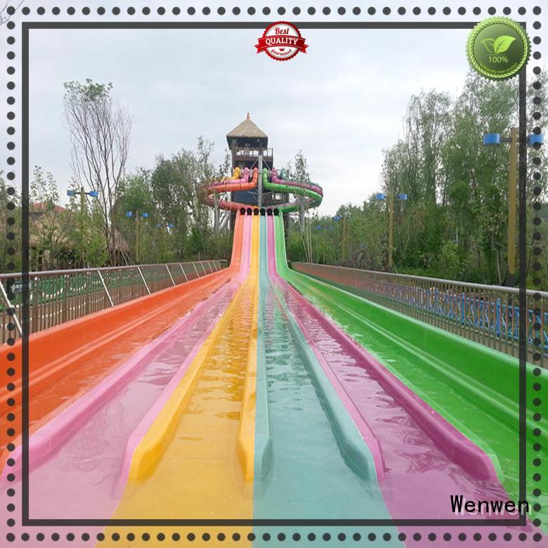 large fiberglass slides for sale competition for amusement park