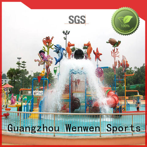 interactive small water park supplier for water park