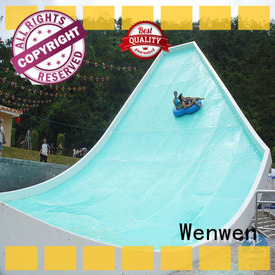 Wenwen fiberglass fiberglass water slide tubes good selling for resort